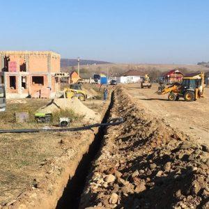 Extindere rețele hidroedilitare în comuna Cristian